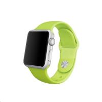 COTEetCI silikonový sportovní náramek pro Apple watch 38 / 40 mm zelený