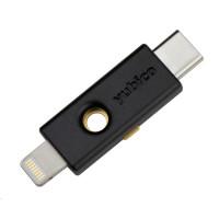 YubiKey 5Ci - USB-C + Lightning, klíč/token s vícefaktorovou autentizaci, podpora OpenPGP a Smart Card (2FA)
