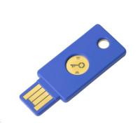 Security Key NFC - USB-A, podporující vícefaktorovou autentizaci (NFC, MIFARE), podpora FIDO U2F, voděodolný
