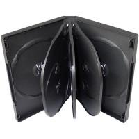 PP box  7/8DVD čierny* rozmer 190x135x28mm