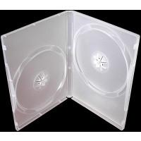 PP box 2DVD priehľadný super clear*(14mm) 100 ks/bal