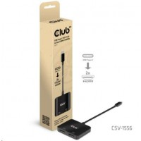 Club3D Video hub MST (Multi Stream Transport) USB-C 3.2 na HDMI 2.0, Dual Monitor 4K60Hz