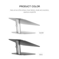 COTEetCI hliníkový flexibilní podstavec pro notebooky (jednosměrný) stříbrný