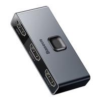 Baseus Matrix HDMI Splitter (2in1 or 1in2) Space Gray