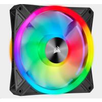 CORSAIR ventilátor QL Series QL140 RGB LED, 1x 140mm, 26dBA