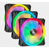 CORSAIR ventilátor QL Series QL120 RGB LED, 3x 120mm, 26dBA, Lighting Node CORE