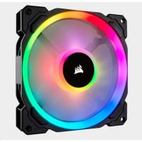 CORSAIR ventilátor LL Series, LL140 RGB, 140mm Dual Light Loop RGB LED PWM Fan, Single Pack