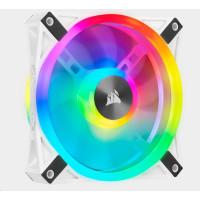 CORSAIR ventilátor QL Series QL120 RGB LED, 1x 120mm, bílá