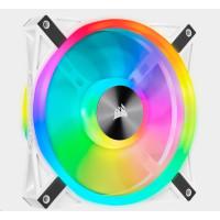 CORSAIR ventilátor QL Series QL140 RGB LED, 1x 140mm, bílá