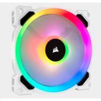 CORSAIR ventilátor LL120 RGB LED, 1x 120mm, 36dBA, bílá
