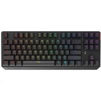SPC Gear klávesnice GK630K Tournament / mechanická / Kailh Brown / RGB podsvícení / kompaktní / maďarský layout / USB