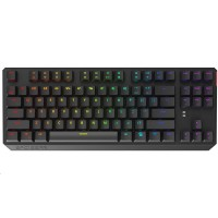 SPC Gear klávesnice GK630K Tournament / mechanická / Kailh Red / RGB podsvícení / kompaktní / maďarský layout / USB