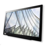 """AOC MT IPS LCD WLED 15,6"""" I1601FWUX - IPS panel, 1920x1080, 220cd, USB-C, usb napajeni, rozbalen"""