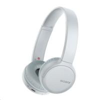 SONY bezdrátová stereo sluchátka WH-CH510, bílá