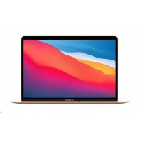 APPLE MacBook Air 13'',M1 chip with 8-core CPU and 7-core GPU, 256GB,8GB RAM - Gold