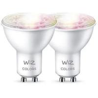 Ecovacs LED Žárovka SMART WiFi GU10 WiZ50 TR F WiZ Barevná a Bílá 2200 - 6500K 5W (WZE20195081)