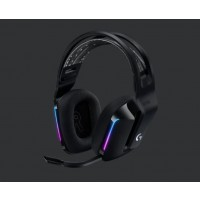 Logitech herní sluchátka G733, LIGHTSPEED Wireless RGB Gaming Headset, EMEA, black