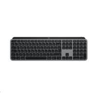 Logitech klávesnice MX Keys for Mac, SPACE GREY, bezdrátová klávesnice, US