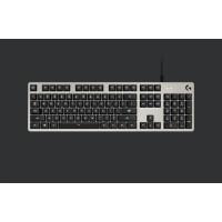 Logitech klávesnice G413 Mechanical Gaming Keyboard, US INT'L, INTNL, Silver