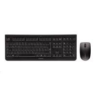 CHERRY set klávesnice + myš DW 3000, bezdrátová, EU, černá