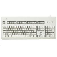 CHERRY klávesnice G80-3000 BLUE SWITCH, USB, EU, šedá