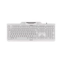 CHERRY klávesnice se čtečkou karet KC 1000 SC-Z, USB, EU, světle šedá