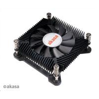 AKASA chladič CPU KS7 pro Intel LGA 1200/115X, nízkoprofilový, 35W TDP