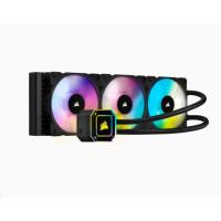 CORSAIR vodní chlazení iCUE H150i ELITE CAPELLIX, 360mm Radiator, Triple 120mm ML RGB Fans, Software Control