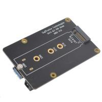Suptronics přídavná deska X862 M.2 NGFF SATA SSD Shield