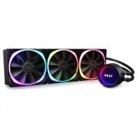 NZXT vodní chladič Kraken X73 RGB / 3x 120mm fan / LGA 2066/2011(-3)/1366/1156/1155/1151/1150/AM4