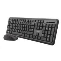 TRUST set klávesnice + myš ODY, bezdrátová, USB, CZ/SK