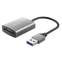 TRUST čtečka paměťových karet DALYX Fast, externí, USB 3.2, 8cm