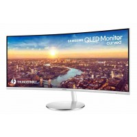 "SAMSUNG MT LED LCD 34""C34J791W - prohnutý, VA, 3440x1440, 2xUSB, HDMI, DisplayPort, 4 ms"