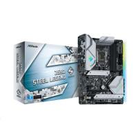 ASRock MB Sc LGA1200 Z590 STEEL LEGEND, Intel Z590, 4xDDR4, 1xDP, 1xHDMI
