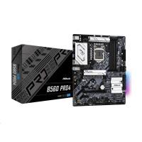 ASRock MB Sc LGA1200 B560 PRO4, Intel B560, 4xDDR4, 1xDP, 1xHDMI