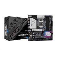 ASRock MB Sc LGA1200 Z590M PRO4, Intel Z590, 4xDDR4, 1xDP, 1xHDMI, mATX