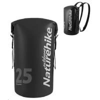 Naturehike vodotěsný batoh 250D 20l 600g - černý