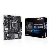 ASUS MB Sc LGA1200 PRIME H510M-D, Intel B510, 2xDDR4, 1xHDMI, 1xVGA, mATX