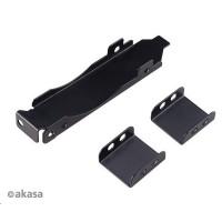 AKASA držák PCI slotu, pro 80mm nebo 92mm ventilátor, černá
