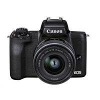 Canon EOS M50 Mark II + M15-45 STM + M55-200 - černé