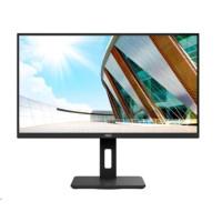 "AOC MT IPS LCD WLED 28"" U28P2A - IPS panel, 3840x2160, 2xHDMI, 2xDP, USB 3.2, repro, pivot"