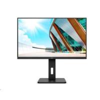 """AOC MT VA LCD WLED 31,5"""" U32P2 - VA panel, 3840x2160, 2xHDMI, DP, USB 3.2, repro, pivot"""
