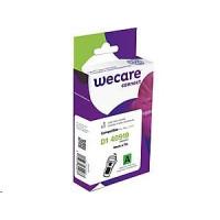 WECARE ARMOR páska pro DYMO S0720740, černá/zelená, 9mm x 7m