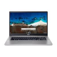 "ACER NTB Chromebook 317 (CB317-1H-P6L9) - Pentium N6000,17.3"" FHD IPS Touch,8GB,128GB eMMC,UHD Graphics,Chrome OS,Stříbr"
