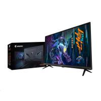 """GIGABYTE LCD - 43"""" Gaming monitor AORUS FV43U UHD, 3840 x 2160, 144Hz, 4000:1, 750cd/m2, 1ms, 2xHDMI 2.1, 1xDP, VA QLED"""