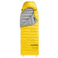 Naturehike péřový spací pytel CWZ400 550FP 930g vel. L - žlutý