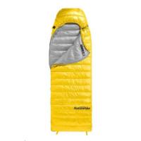 Naturehike péřový spací pytel CW400 750FP 910g vel. M - žlutý