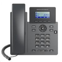 """Grandstream GRP2601P [VoIP telefon - 2.21"""" 132 x 48 grafický, 2x SIP účet, 2x RJ45 10/100 Mbps, PoE]"""