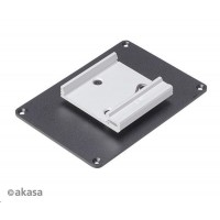 AKASA držák Din Rail bracket, pro Raspberry Pi case