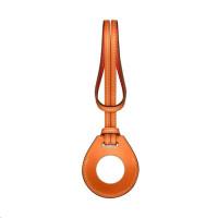 COTEetCI kožené pouzdro H-series pro Apple AirTag, oranžová